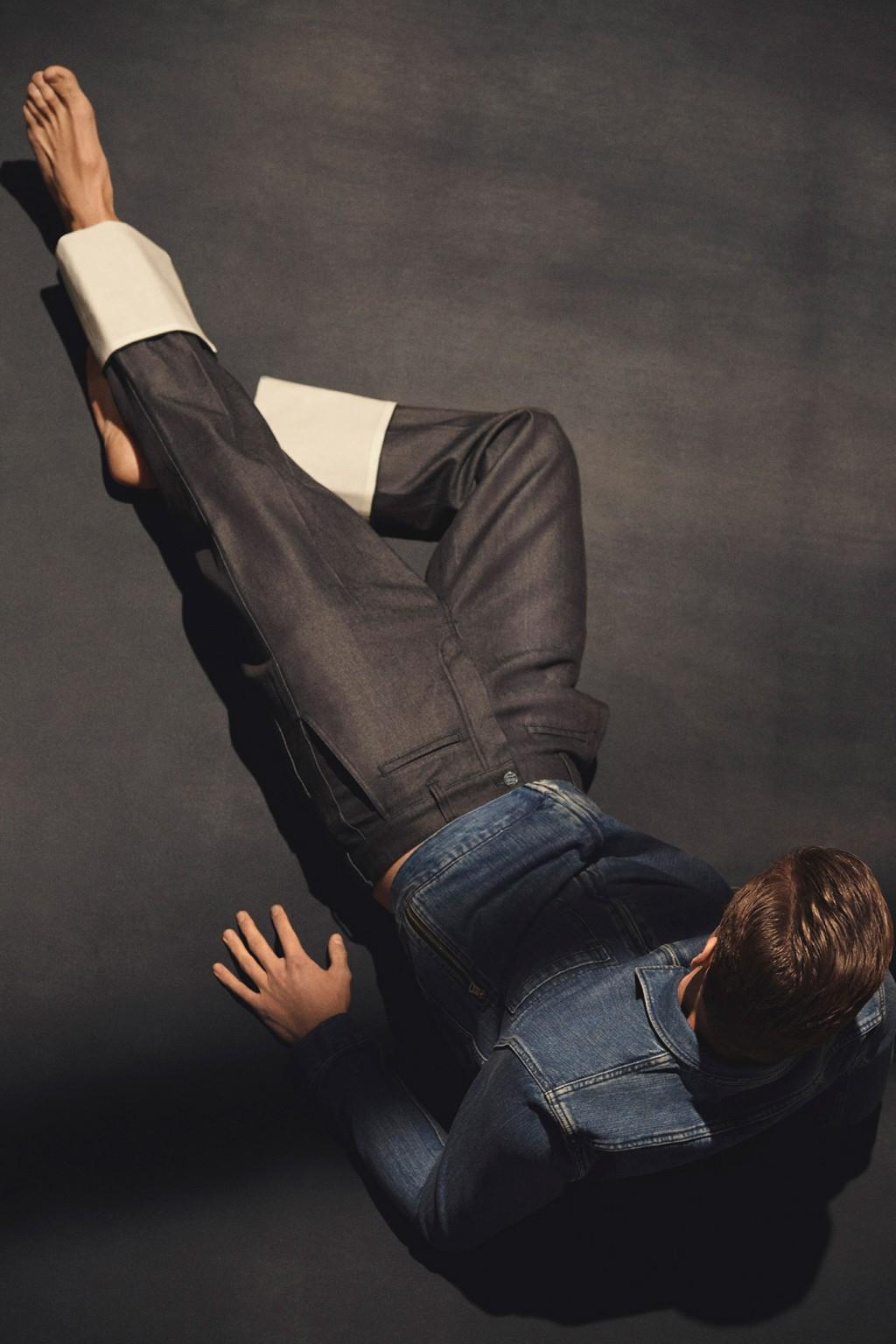 Devin Blair Photography. Fantastic Man Magazine. 2015. Denim. John Colver Stylist.